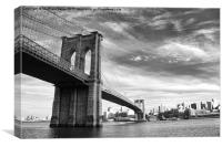 Brooklyn Bridge, Canvas Print