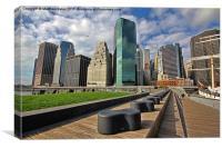 New York cityscape, Canvas Print