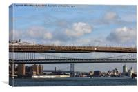 3 Bridges, Canvas Print