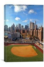 New York baseball field, Canvas Print