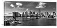 The Brooklyn Bridge, Canvas Print