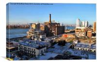 Abandoned Brooklyn Yard, Canvas Print