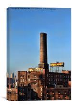 Brooklyn Chimney, Canvas Print