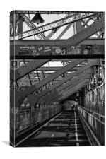 Williamsberg Bridge, Canvas Print