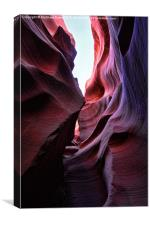 Antelope Canyon Interior, Canvas Print