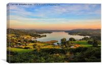 Majestic Windermere, Canvas Print