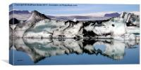 Iceberg Reflection, Canvas Print