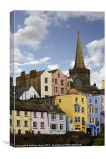 Tenby Colours, Canvas Print