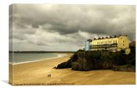 Tenby View, Canvas Print