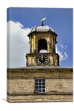 Chatsworth Clock Tower, Canvas Print