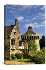 Scotney Castle, Kent, Canvas Print