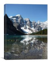 Moraine Lake, Canada, Canvas Print