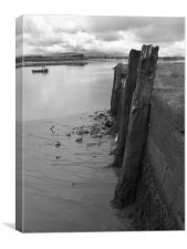 Old Docks Alloa, Canvas Print