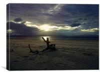 nairn beach, Canvas Print