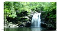 Falls of Falloch, Canvas Print