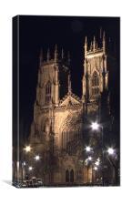 York Minster, Canvas Print