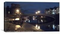 Lendal Bridge, York, Canvas Print