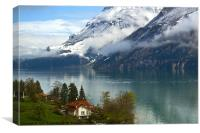 The Swiss Alps, Canvas Print