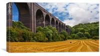 Conisbrough Viaduct, Canvas Print