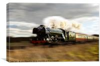Flying Scotsman 2016, Canvas Print