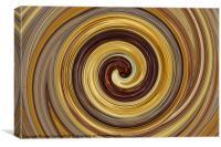 Seaweed Swirl, Canvas Print