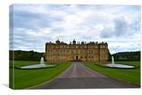 LONGLEAT HOUSE, Canvas Print