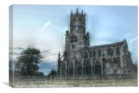 HDR Effect Fotheringhay Church