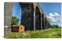 Under The Arches, Canvas Print