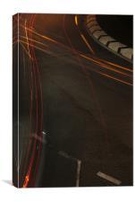 Light Trails 1, Canvas Print