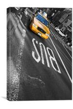 New York City - Mellow Yellow I, Canvas Print