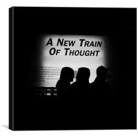 A new train of thought, Canvas Print