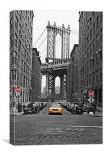 DUMBO: Eye of the needle, Canvas Print
