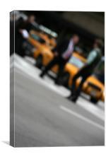 NY Dynamics I, Canvas Print