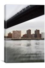 Manhattan view from Brooklyn, Canvas Print
