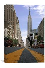 Empire State of Mind I, Canvas Print