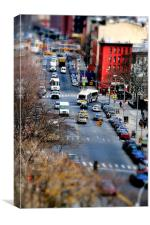 TIny New York, Canvas Print