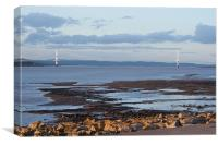 Severn Bridge Pont Hafren, Canvas Print