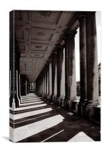 Old Royal Naval College, Canvas Print