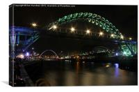 Tyne Collection, Canvas Print