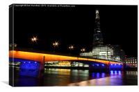 The Shard London Bridge, Canvas Print