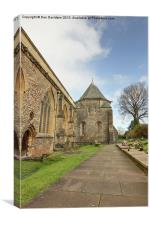 Llandaff Cathedral Cardiff, Canvas Print
