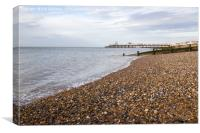 Herne Bay Seafront, Canvas Print