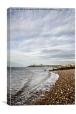 Herne Bay Pier, Canvas Print