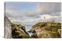 South Stack Island, Canvas Print