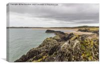Anglesey Beachscape, Canvas Print