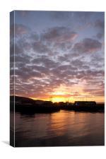 Swansea Docks at Sunrise