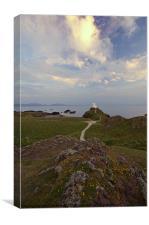 Llanddwyn Island - Old Lighthouse, Canvas Print