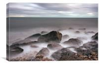 Lyme Bay, Canvas Print