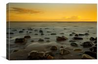 St. Bees sunset, Canvas Print