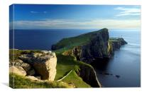 Neist Point Lighthouse, Canvas Print